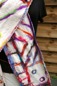 écharpe étamine fibres3