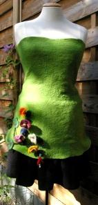 tunique mur végétal