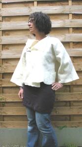 veste courte feutre