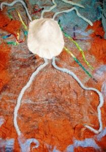 panneau racines tête