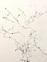 art textile, art contemporain, dentelle contemporaine, fils métalliques, sculpture métal