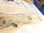 art textile, art contemporain, dentelle contemporaine, feutre
