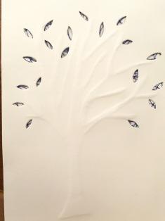 papier gaufré, art contemporain, dentelle contemporaine