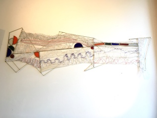 art textile, art contemporain, dentelle contemporaine