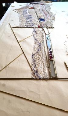 art textile, art contemporain, dentelle contemporaine