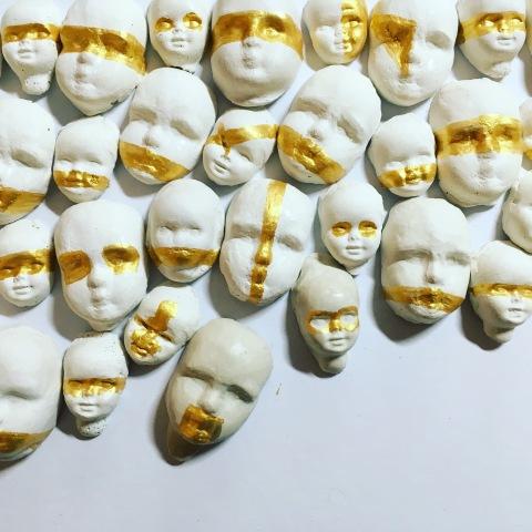 visages porcelaine